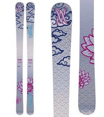 Völkl Kenja Women's Skis, twin tip skis, gifts for skiers