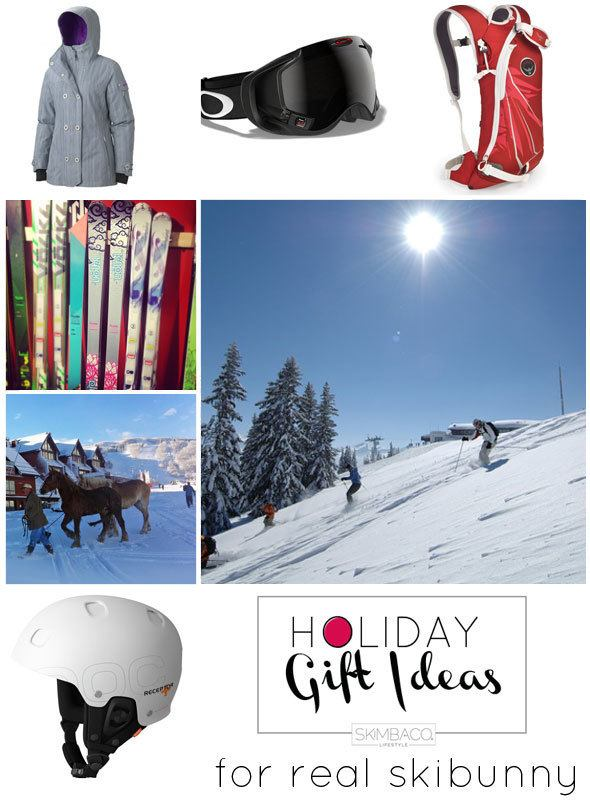 gifts for skiers, luxury ski gifts, ski vacation holidays, holiday gifts, snowbunny gifts