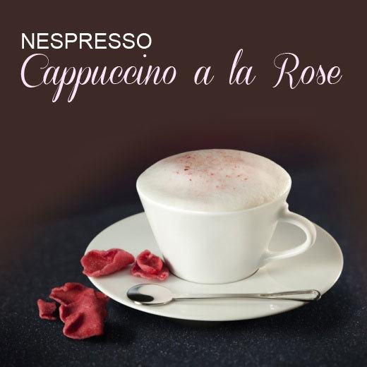 Nespresso Cappuccino a la Rose