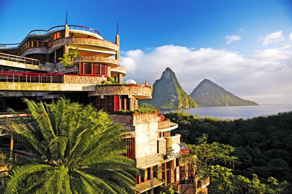 St. Lucia, Jade Mountain Resort