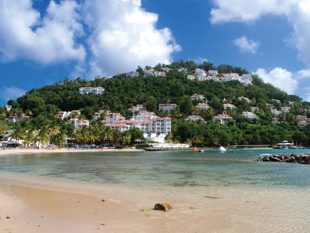 St. Lucia, Windjammer Landing Beach Villa Resort