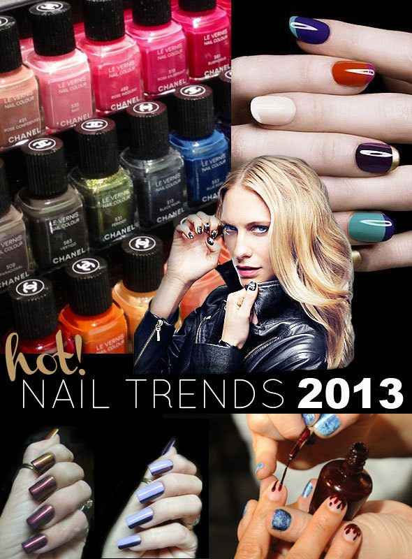 Nageldesign Trends 2013  Maniküre Nageldesign amp NailArt
