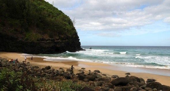 Hanakapi' ai Beach in Kauai