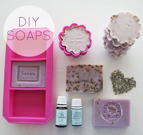 how to make DIY soaps at home