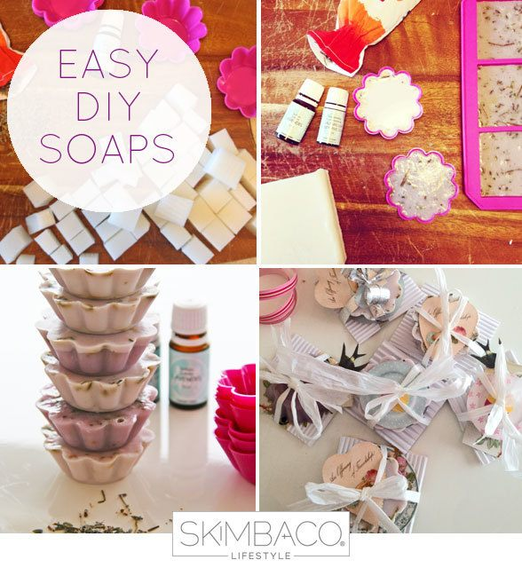 Easy DIY soaps at home - how to make handmade soaps