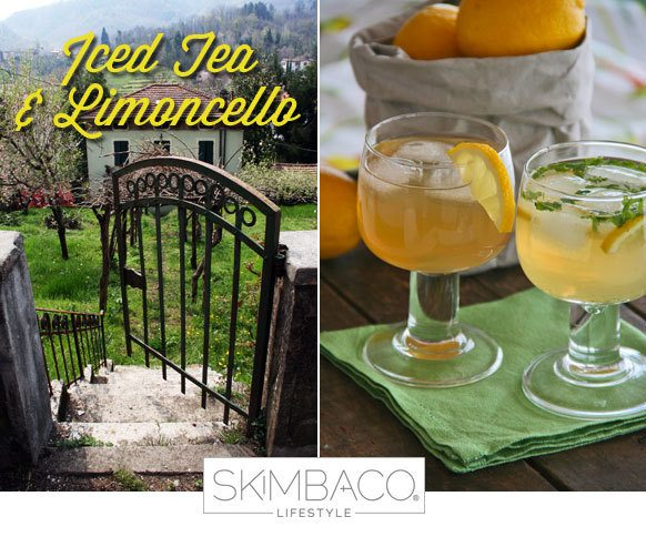 Lipton iced tea and italian limoncello meet in these two for Cocktail limoncello