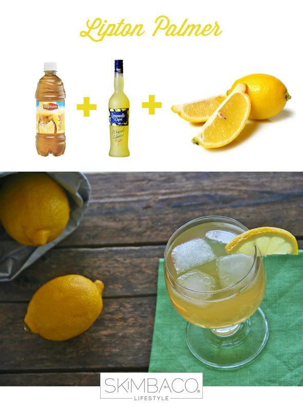 Leland Palmer cocktail recipe with iced tea, lemonade and limoncello