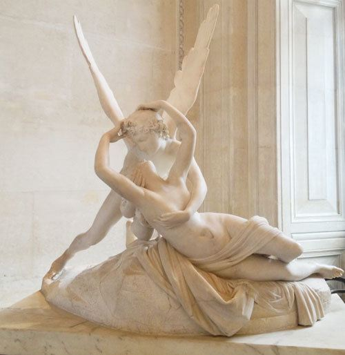 Psyche Revived by Cupid's Kississ