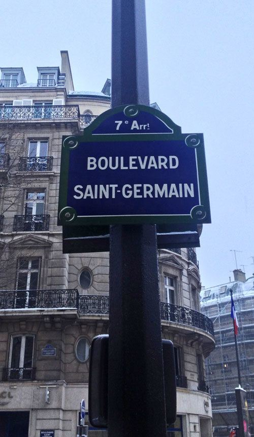 Boulevard Saint-Germain Paris