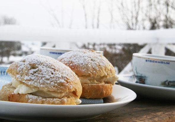 swedish semlor recipe from Sweden
