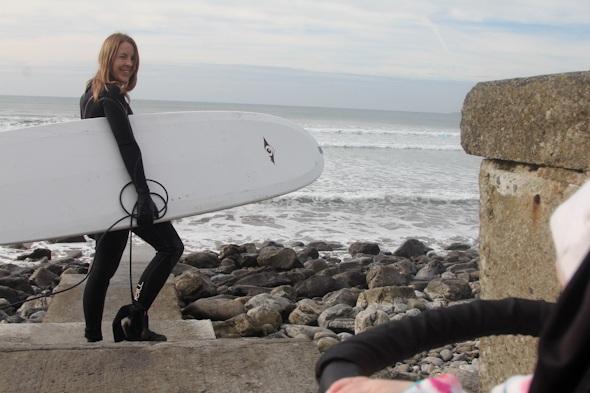 Surfing in Ireland I @SatuVW I Destination Unknown