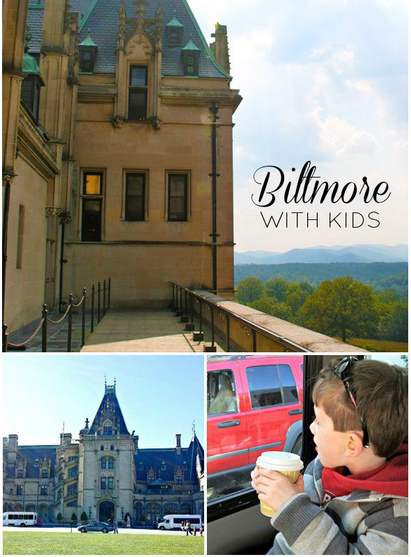 Visiting Biltmore Estate with kids