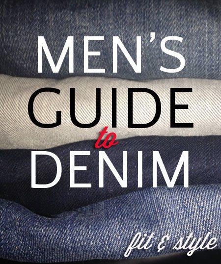 Denim shopping tips for men