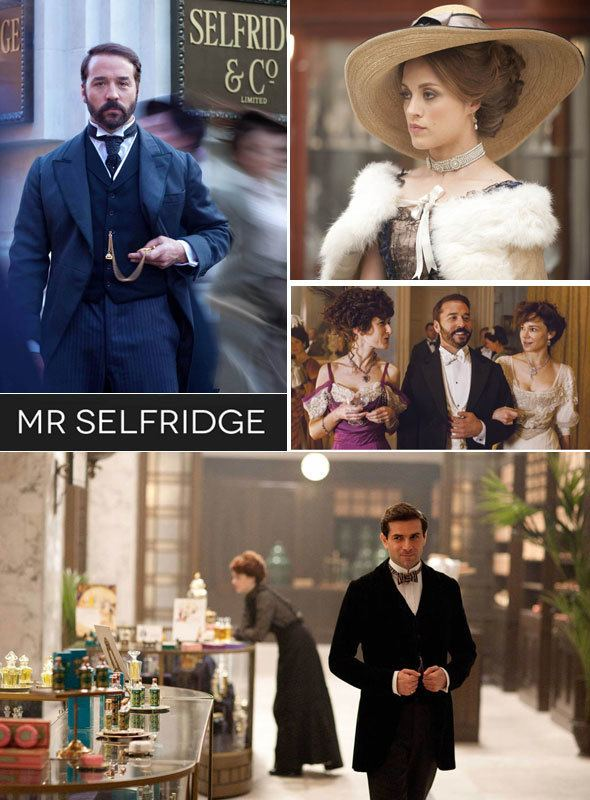 Fashion & drama in the TV show Mr Selfridge