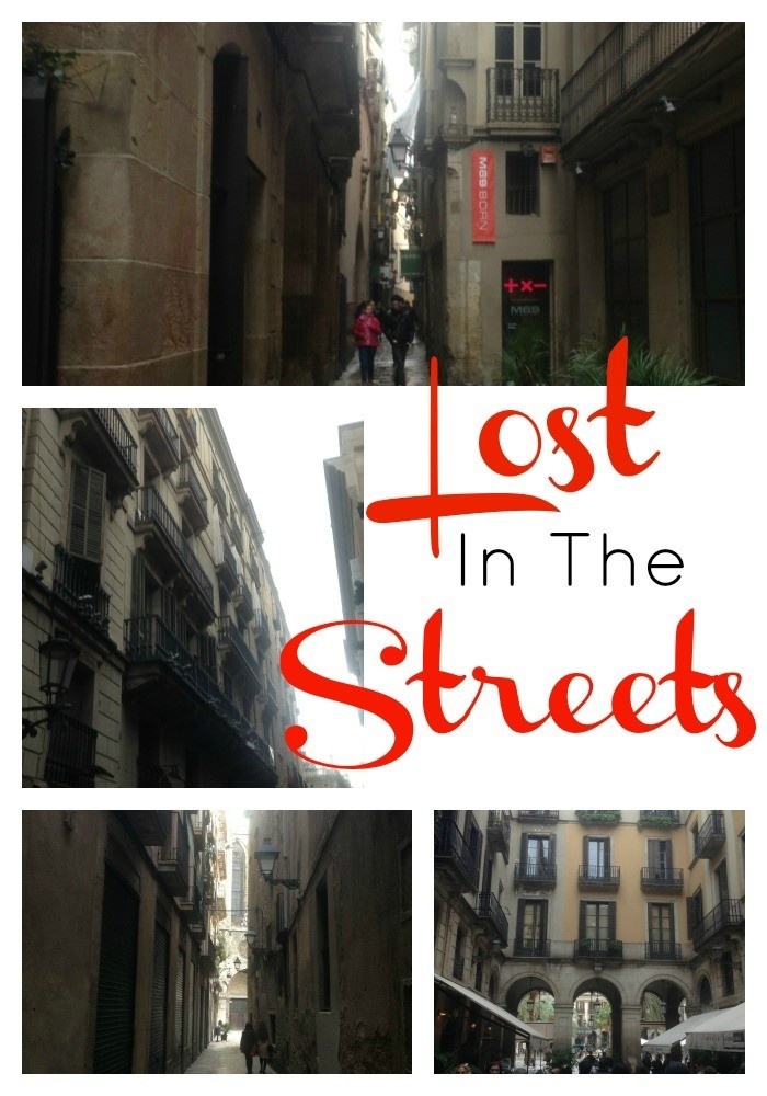 Gothic District Barcelona