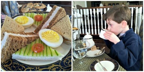 Tea at Washington Duke Inn in Durham, NC