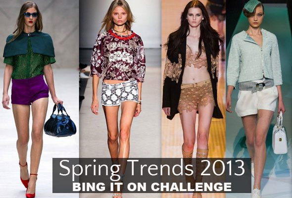Bing it on - searching for spring trends