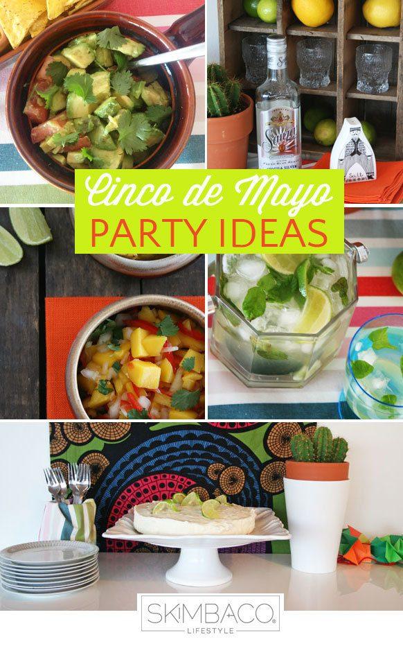 Cinco de Mayo Party Ideas, cinco de mayo recipes, cinco de mayo food, cinco de mayo table setting, mango salsa