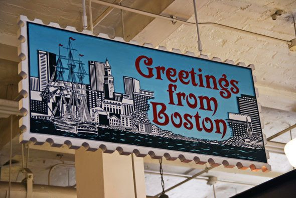 Greetings from Boston