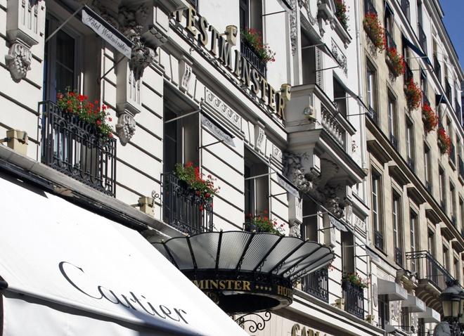 Hotel Westminster Paris France