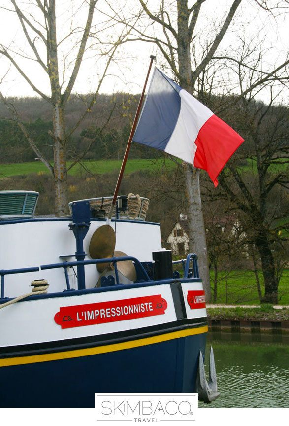 River cruise in France