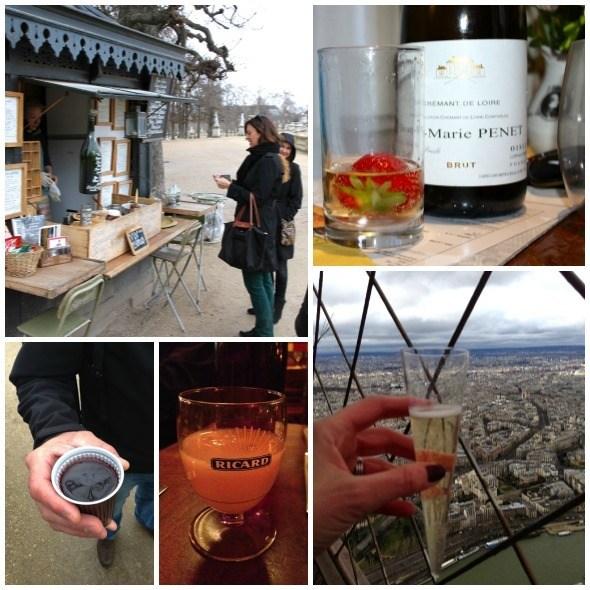 Adult Beverages in Paris