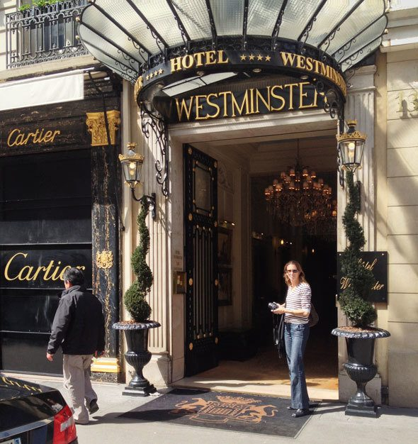 Hotel Westminster, Paris, France