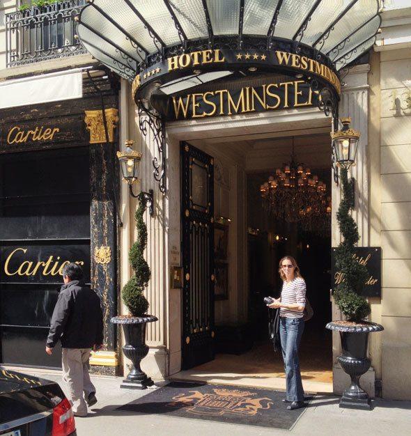 Hotel Westminster, Paris, France