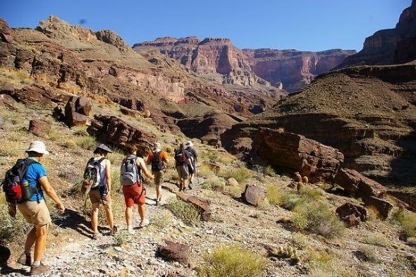 Hiking on the Grand Canyon I @Gene17Kayaking