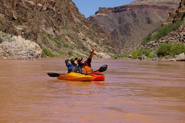 Kayking on the Grand Canyon I @Gene17Kayaking