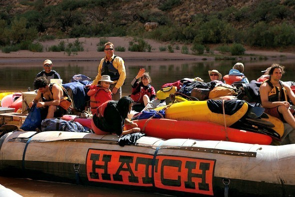 Rafting trip on Grand Canyon I @Gene17Kayaking