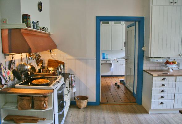 Kitchen in Swedish countryside