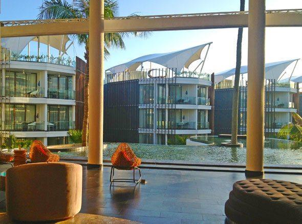 Hotel LeMeridien Bali lobby