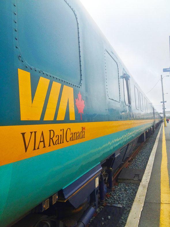 VIARail Canada train