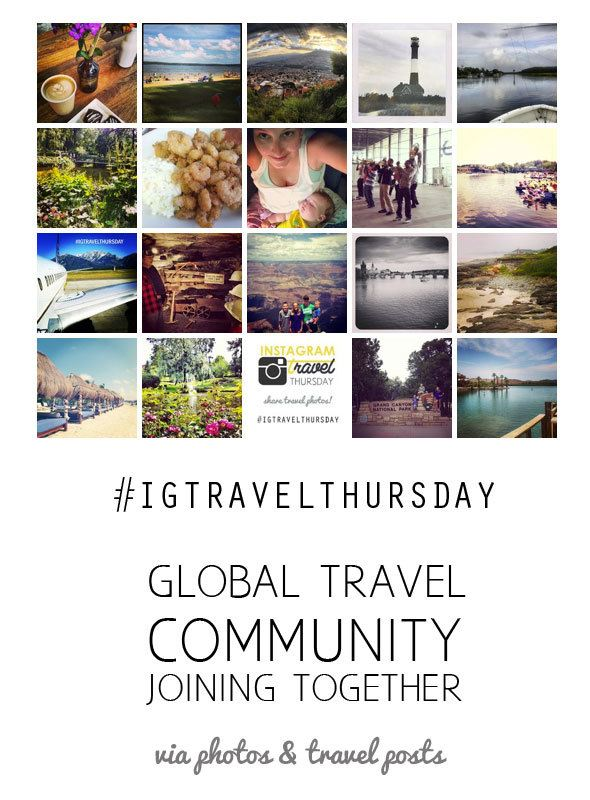 #IGTravelThursday - uniting the global travel blogger community.