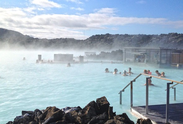 Blue Lagoon Iceland. Travel photo by @katjapresnal