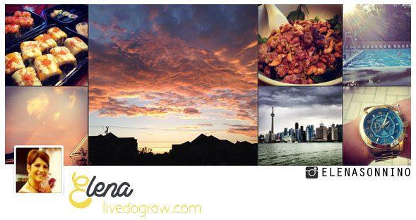 Elena Sonnino on Instagram http://instagram.com/elenasonnino#