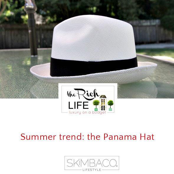 Summer trend: the Panama Hat