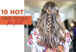 10 Hot Hair Trends for Fall 2013