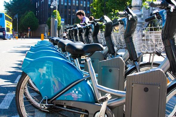Dublinbikes in Dublin I @SatuVW I Destination Unknown