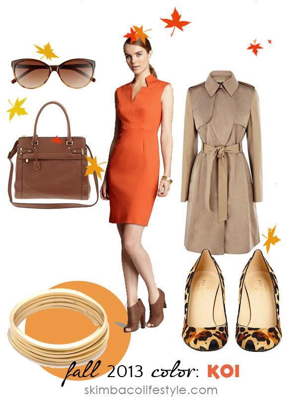 Fall trend color: koi