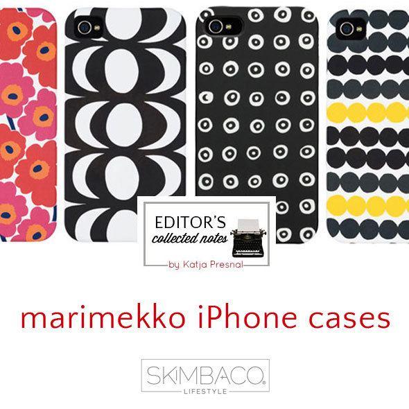 Marimekko iPhone cases featured at SkimbacoLifestyle.com