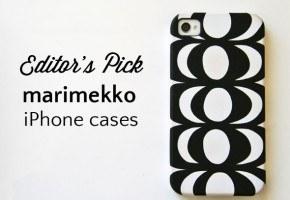 Marimekko iPhone cases