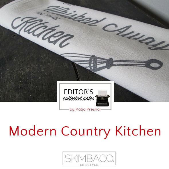 Editor's picks: modern country kitchen products by Katja Presnal via http://www.skimbacolifestyle.com/2013/08/modern-country-kitchen.html