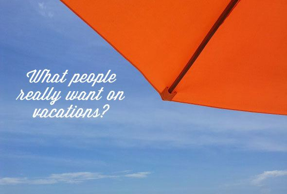 What women really want on vacations? Travel survey reveals.