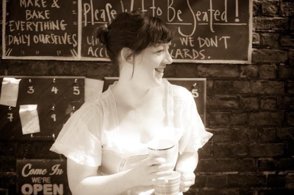 Marian Kilcoyne from Pepper Pot Cafe I @SatuVW I To Destination Unknown