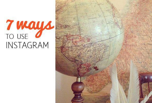 7 different ways of using Instagram by Katja Presnal | SkimbacoLifestyle.com