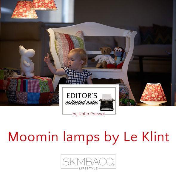 Moomin lamps
