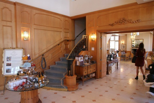 Inside at Domaine Carneros