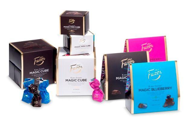 Fazer Magic cube chocolate